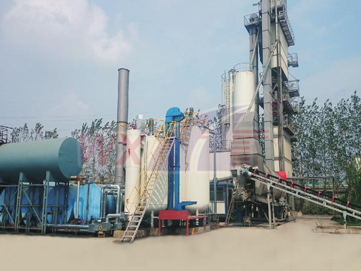 江苏华创20吨固定一体式改性沥青设备