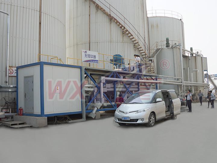 苏州凯达30吨移动一体式改性沥青设备