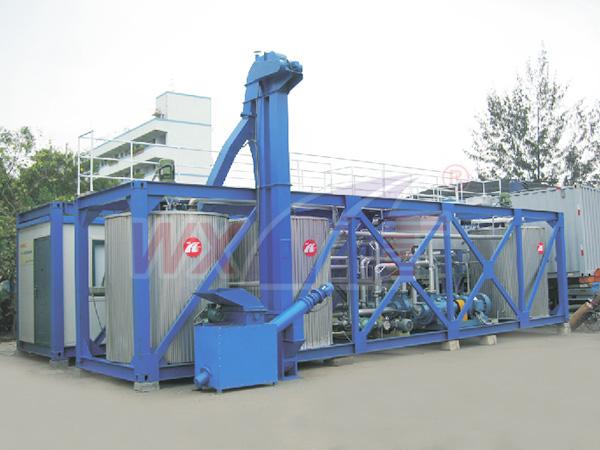 深圳想真科技20吨移动一体式改性沥青设备